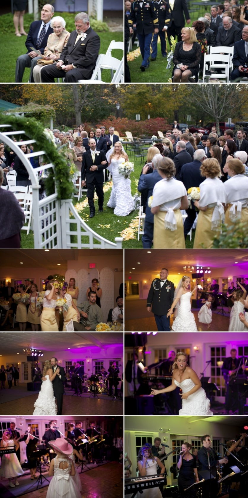 Real Maine wedding of the year in Freeport Maine