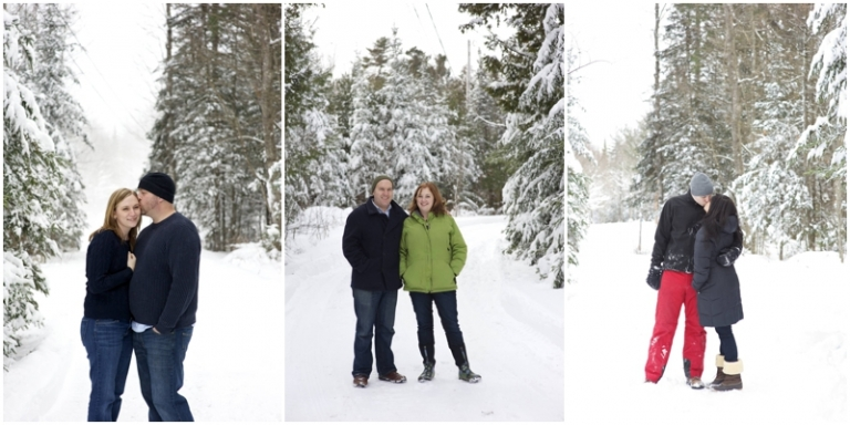 Maine winter portraits with Anne Schmidt Photography