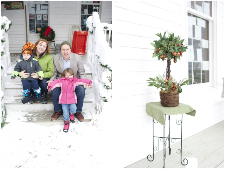 Lundy family winter photos by Anne Schmidt Photography
