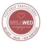 Maine wedding photographers featured in Well Wed