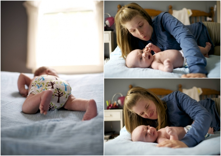 Maine baby photographer on Islesford