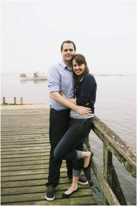 nautical engagement photos in Maine