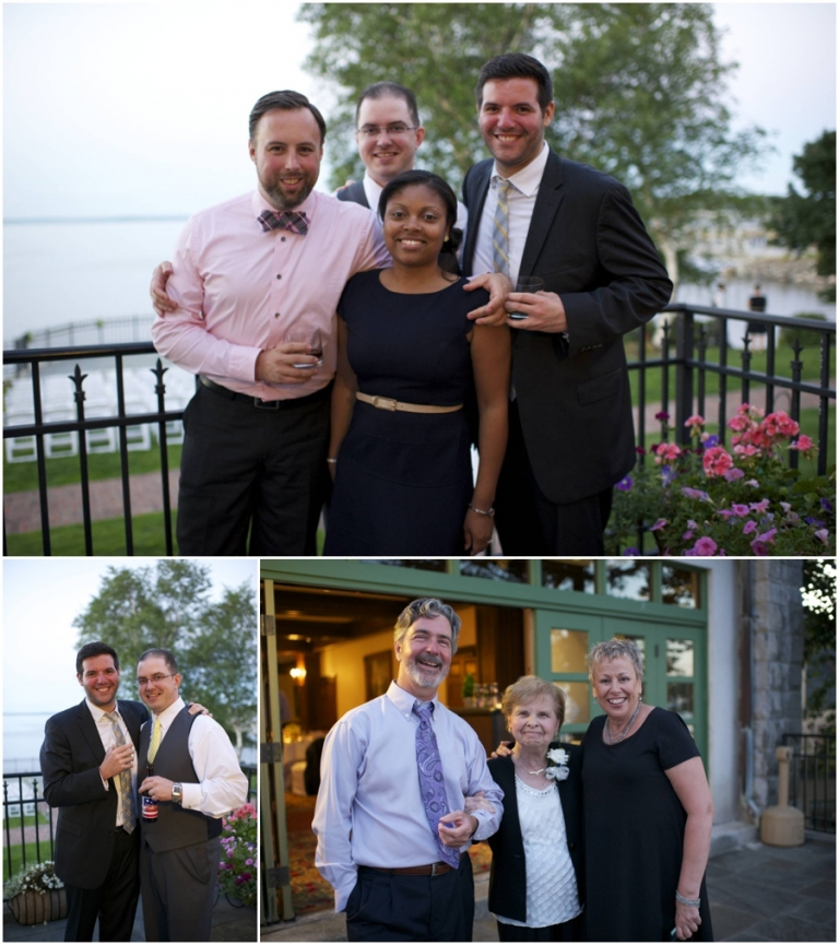 guests at Bar Harbor Regency wedding