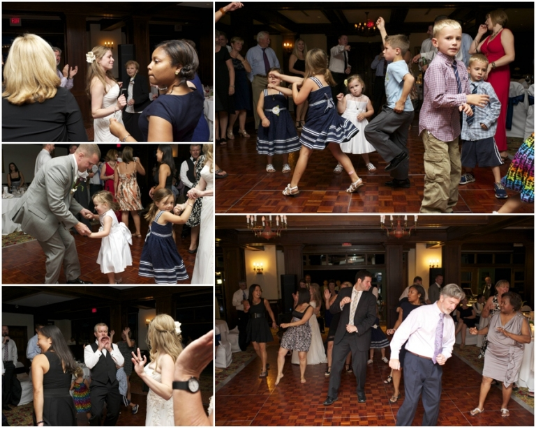 dancing at Bar Harbor Regency wedding in Maine