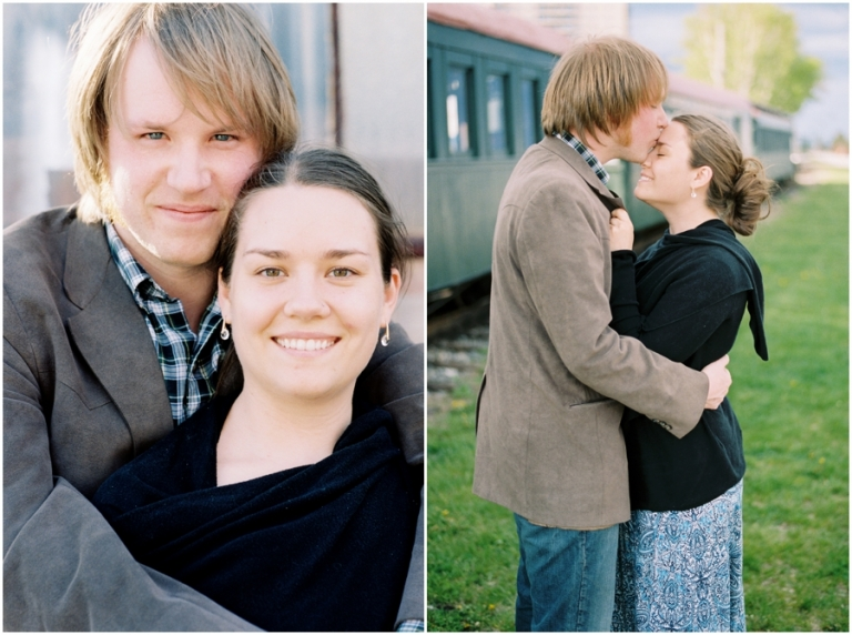 portraits on film in Portland Maine