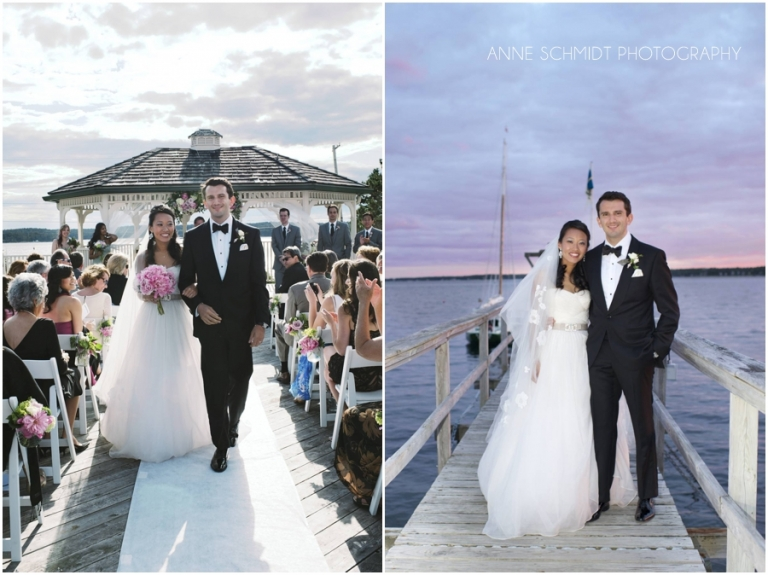 Boothbay wedding photographer at Sprucepoint Inn