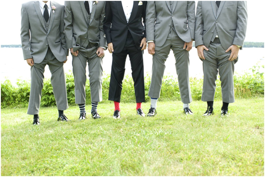 groomsmen funky socks in Maine