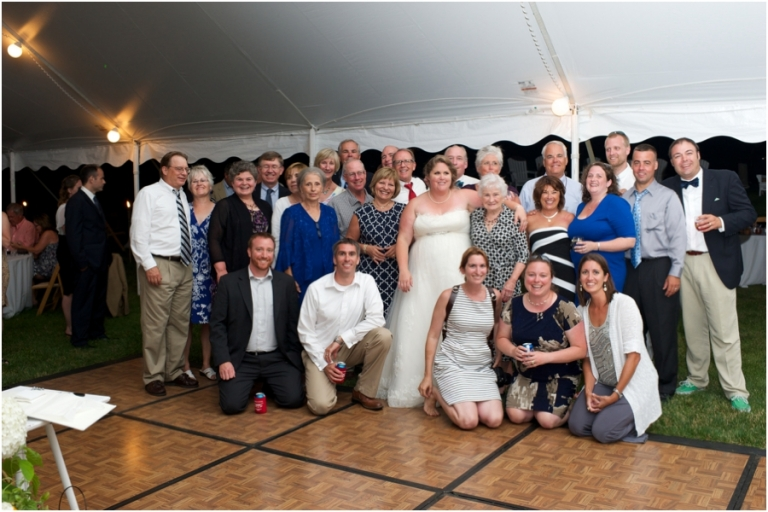 UMaine alums at Blue Hill wedding