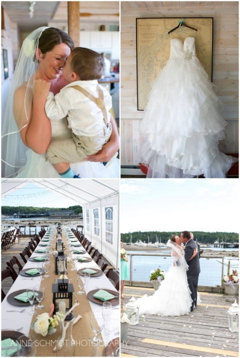oceanfront wedding in Southwest Harbor Maine