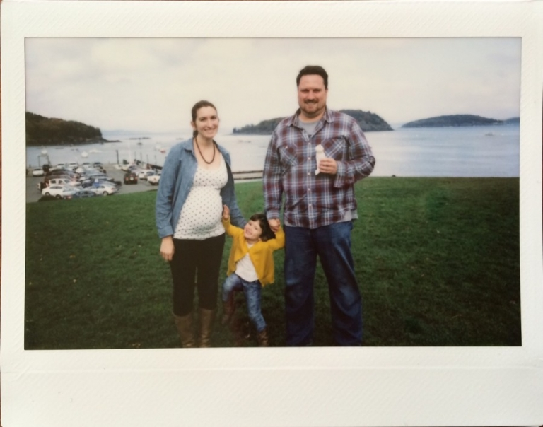 bar harbor family pic