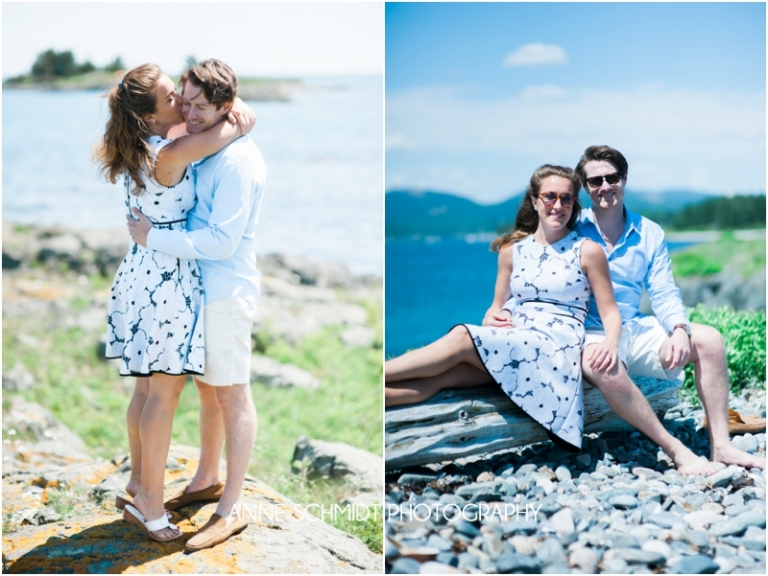 Cranberry Island engagement photos